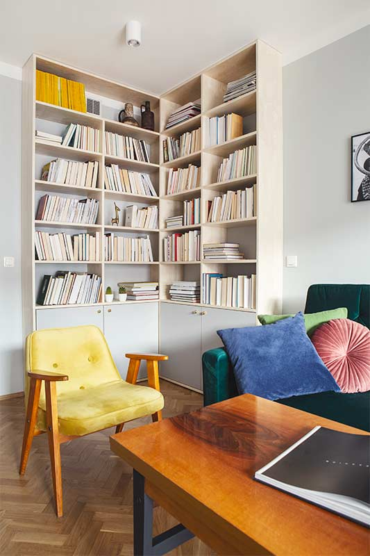 Wnętrza w Obiektywie - Mieszkanie na Nowolipiu