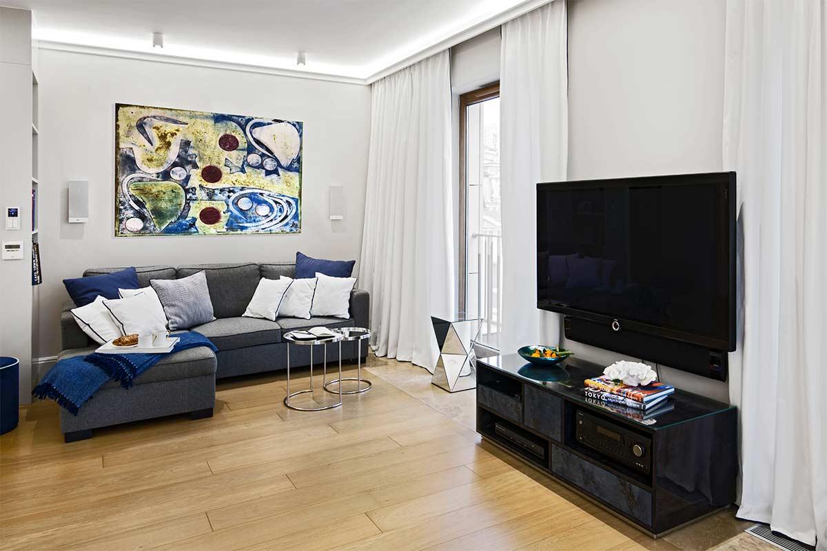 Wnętrza w Obiektywie - Apartament Śródmieście
