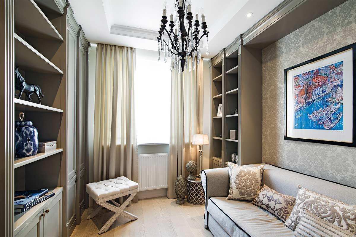 Wnętrza w Obiektywie - Apartament Sadyba