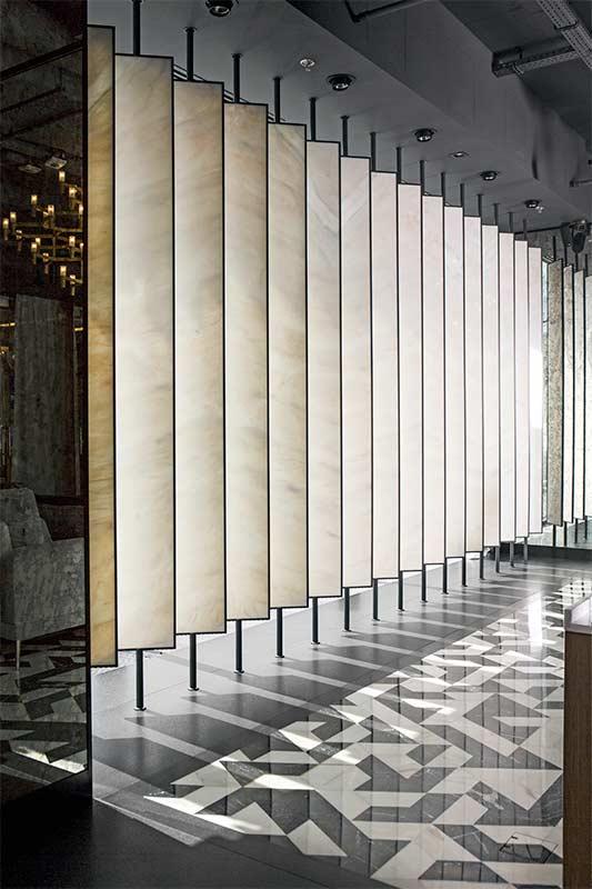 Wnętrza w Obiektywie - Showroom kamienia naturalnego