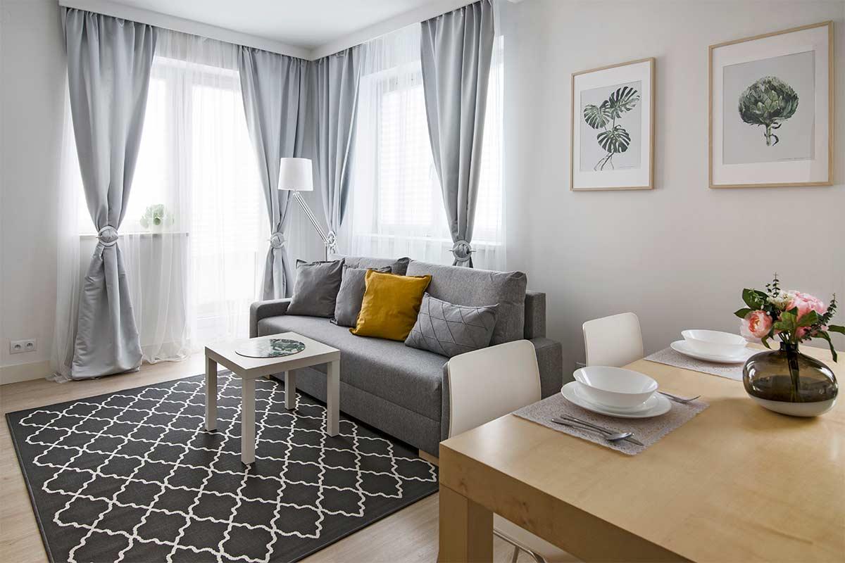 Wnętrza w Obiektywie - Mieszkanie Nadwiślańska