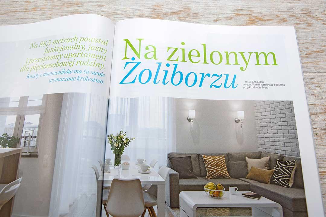 Wnętrza w obiektywie - Publikacja - Villa - Na zielonym Żoliborzu