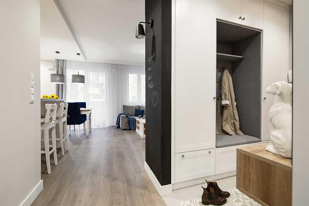 Wnętrza w obiektywie - Mieszkanie na Bemowie